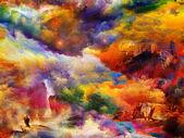 用水彩的梦 — 图库照片
