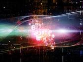 Beyond Digital Network — Stock Photo