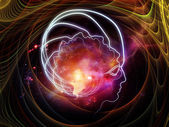 Advance of Consciousness — Stock Photo