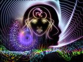 Conhecimento astral — Foto Stock