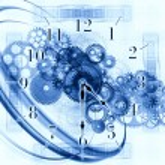 Time fragments — Stock Photo