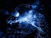 时间漩涡 — 图库照片
