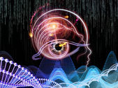 Virtual Human Technology — Stock Photo