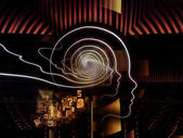 Metaphorical Human Technology — Stock Photo