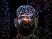 Toward Digital Consciousness — Stock Photo