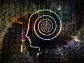 Digital Consciousness — Stock Photo