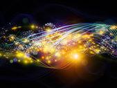Dynamic Network Arrangement — Stock Photo
