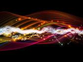 Paradigm of Dynamic Network — Stock Photo