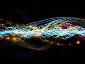 Elements of Dynamic Network — Foto de Stock