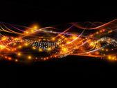 Elegância de rede dinâmica — Fotografia Stock