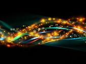 Propagação de rede dinâmica — Fotografia Stock