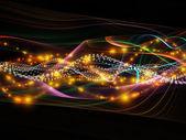 Evolving Dynamic Network — Stock Photo