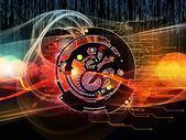 Digital Processing Elements — Stock Photo
