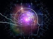 Intelligent leven abstractie — Stockfoto