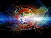 Lights of Digital Processing — Stock Photo