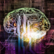 Brain Pathways — Stock Photo