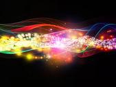 динамическая сеть распространения — Стоковое фото