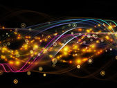 Speed of Dynamic Network — Stock Photo