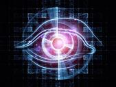 Abstract technology eye — Stock Photo