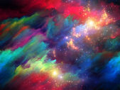 Way of Fractal Paint — Stock Photo