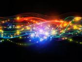 виртуальной динамической сети — Стоковое фото