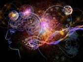 星体的途径 — 图库照片
