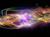 Metaphorical Dynamic Waves — Stock Photo