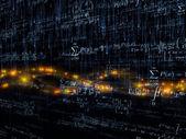 数学的境界 — 图库照片