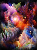 Realms of Fractal Dreams — Stock Photo