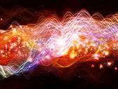 Evolving Dynamic Waves — Stock Photo
