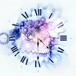 Time background - Stock Photo