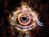 Oko zodiaku — Zdjęcie stockowe