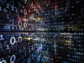 Em direção a tecnologia digital — Fotografia Stock