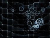 Realms of Fractal Grid — Fotografia Stock