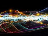 Rede dinâmica em constante evolução — Fotografia Stock