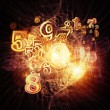 Stock Photo: Numeric Geometry