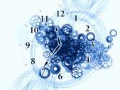 Saat mekanizması — Stok fotoğraf