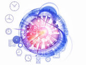 čas mechanismus — Stock fotografie