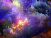 Colorful Fractal Paint — Stock Photo