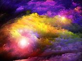 Fundo de pintura do fractal — Fotografia Stock