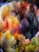 Turbulência fractal esquecida — Fotografia Stock