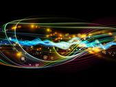 Geschwindigkeit der dynamischen netzwerk — Stockfoto