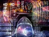 Paradigm of Encryption — Stock Photo