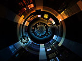 Metaphorical Digital Processing — Stock Photo