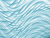 Intersecting Waves — Stock Photo