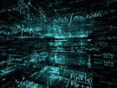 Mathematics Abstraction — Stock Photo