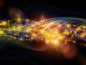 Tiefe des dynamischen netzwerk — Stockfoto