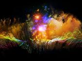 Metaphorical Fractal Waves — Stock Photo