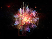 Cloud Technology Metaphor — Stock Photo