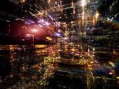 Metaforische fractal afmetingen — Stockfoto